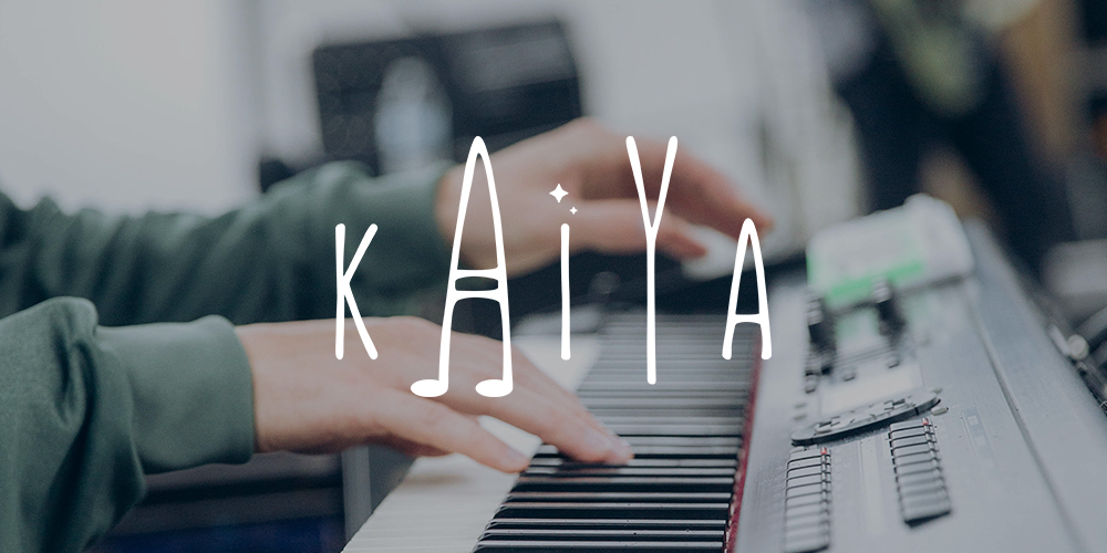 Logo design for Kaiya Calgary based singer songwriter