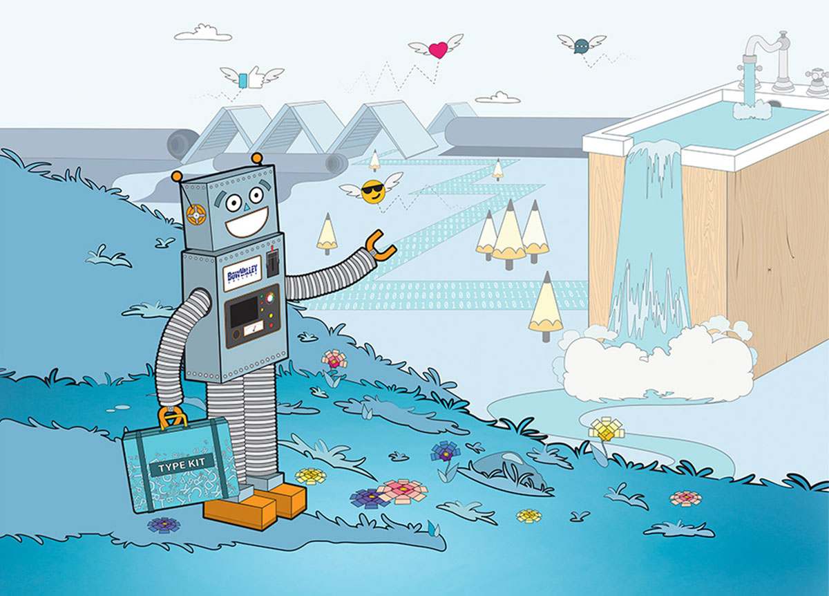 Bow Valley College Creative Technologies Campaign, Print and Illustration