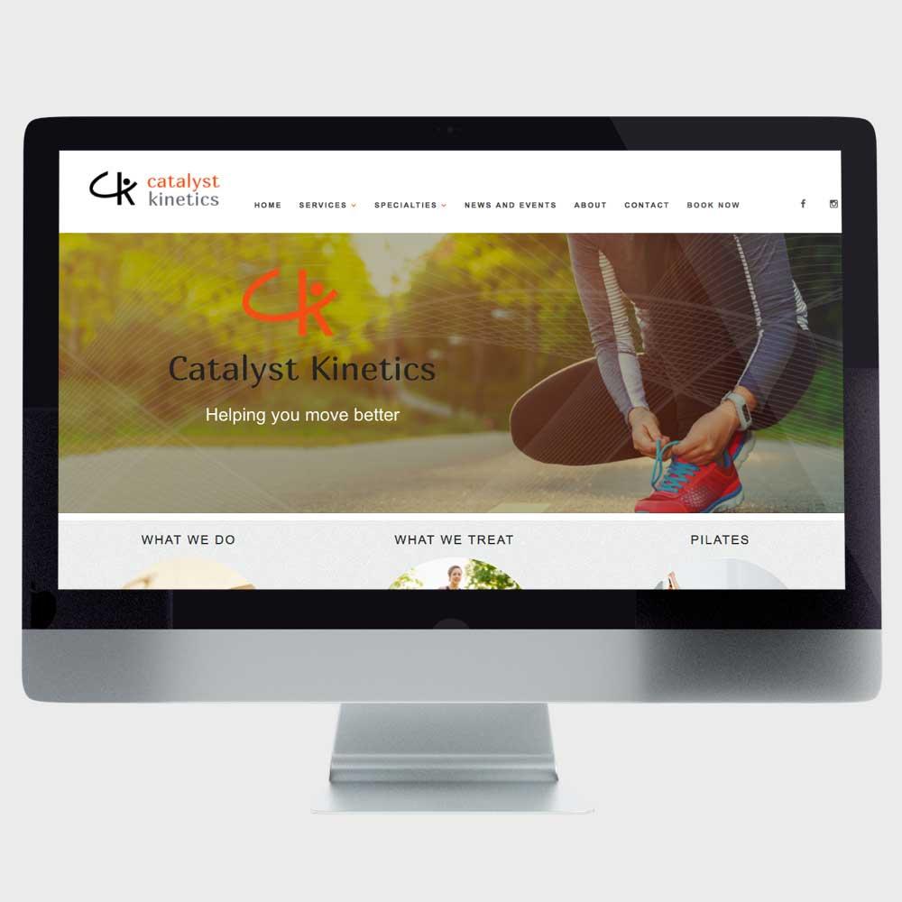Catalyst Kinetics Website Design Calgary