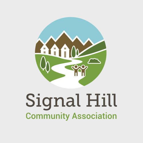Custom logo and branding design for Signal Hill Community Association Calgary