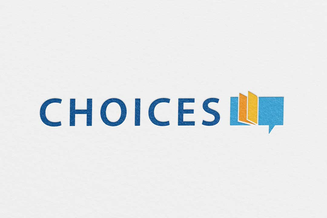 Choices Bow Valley College, Calgary, Logo Design