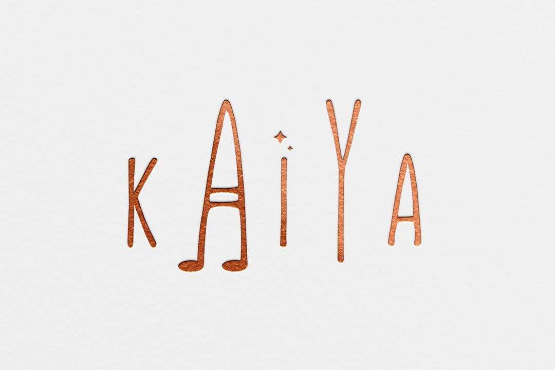 Kaiya Logo Design Calgary