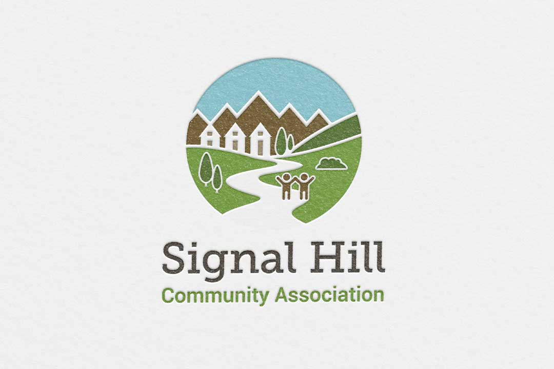 Signal Hill Community Association, Calgary, Logo Design