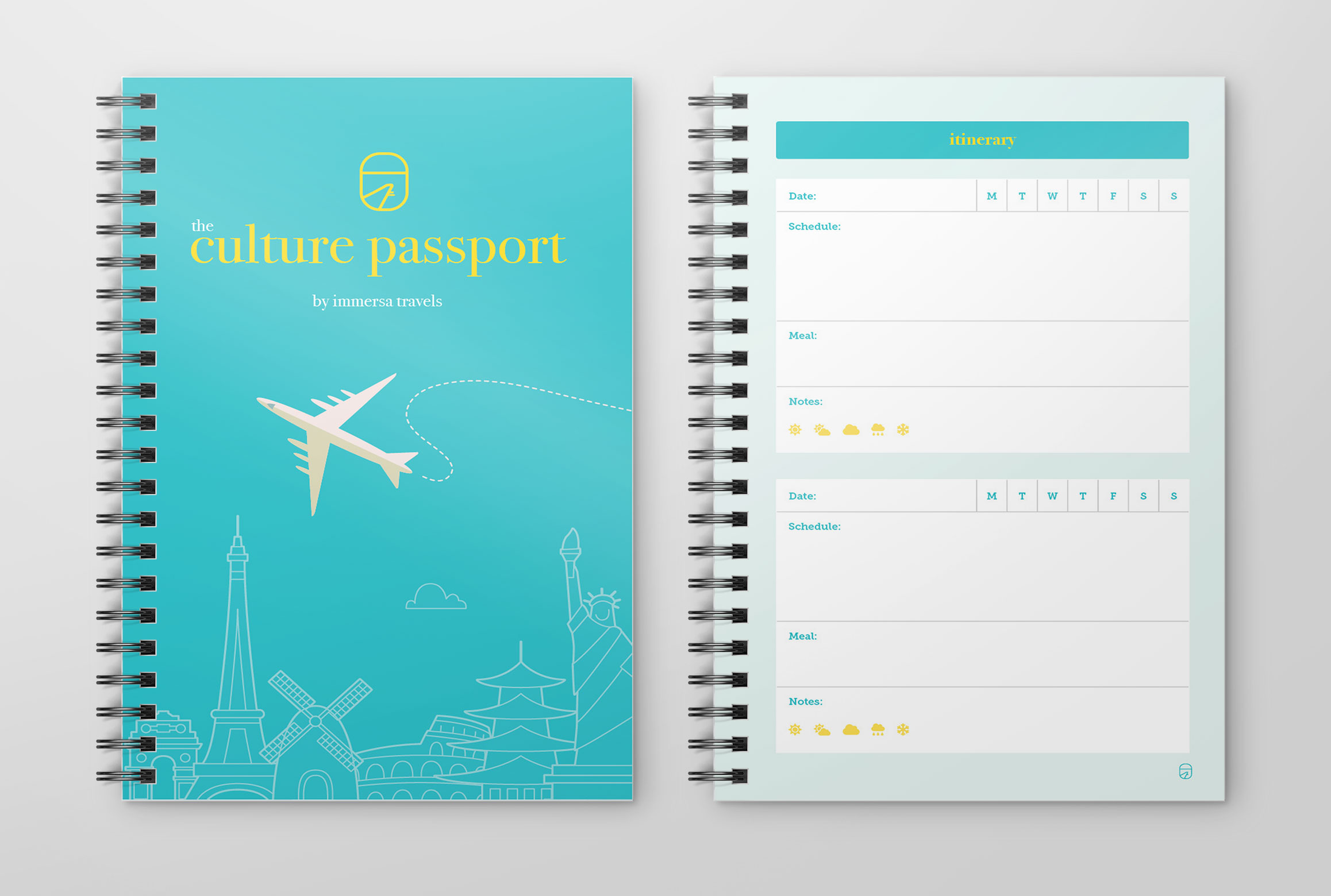 Immersa Travels, Culture Passport Design